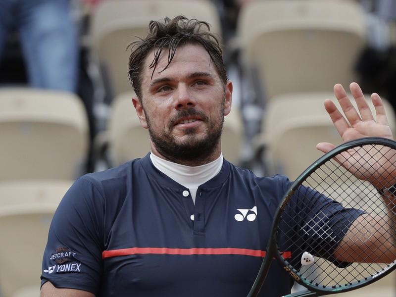 Švajčiar Stan Wawrinka na Roland Garros