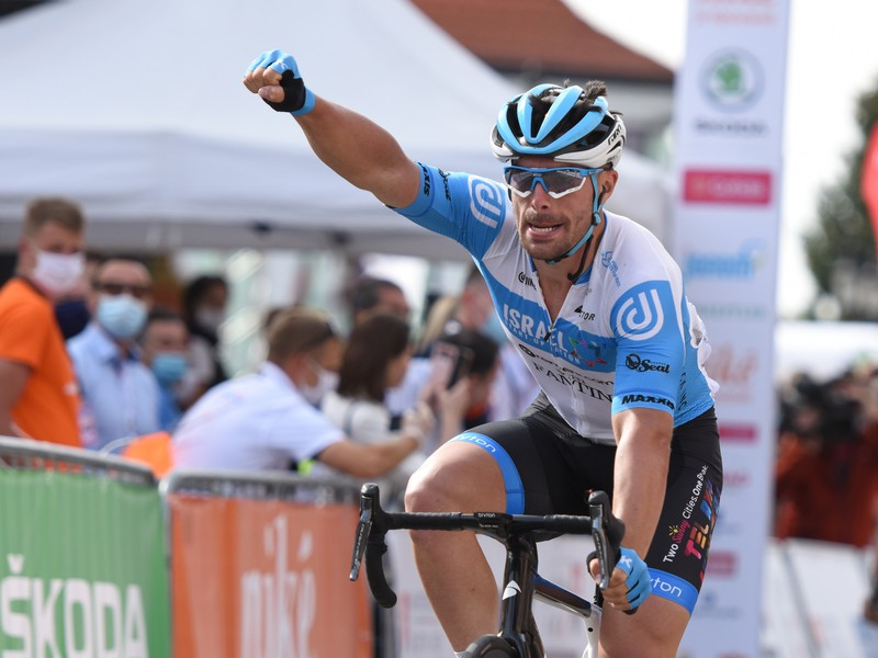 Na snímke francúzsky pretekár Rudy Barbier z tímu Israel Start-Up Nation
