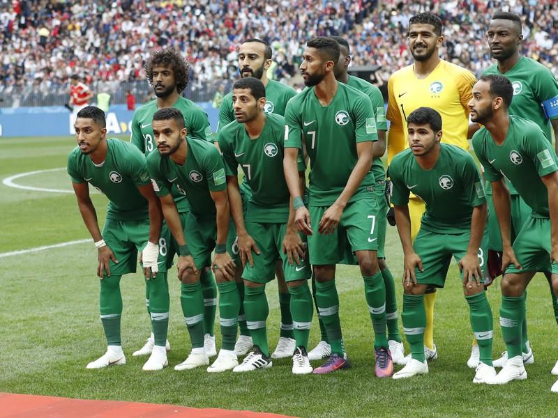 Futbalisti Saudskej Arábie