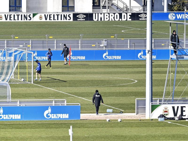 Tréning Schalke počas koronavírusu