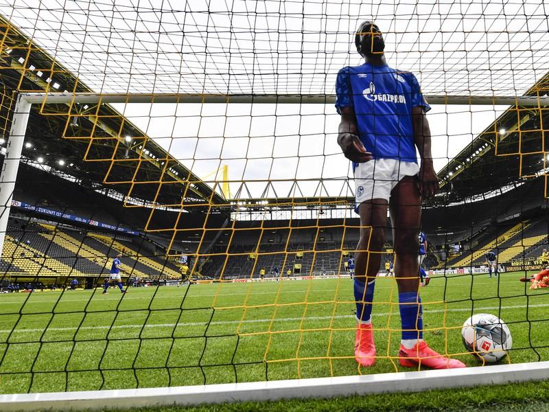Salif Sané po inkasovanom góle