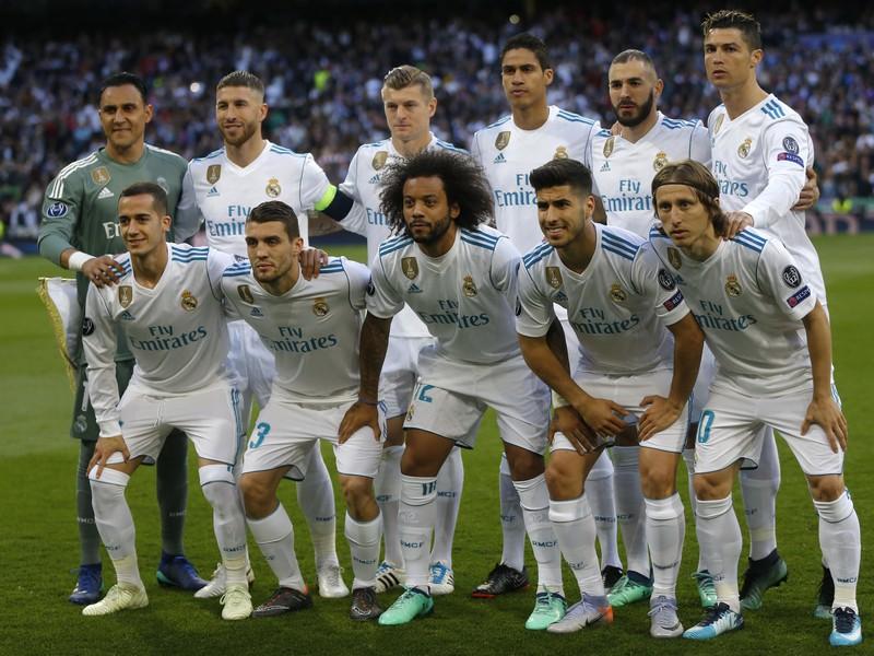 Futbalisti Realu Madrid