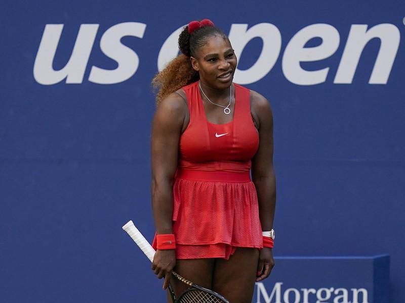 Serena Williams po vyhratom zápase na US Open