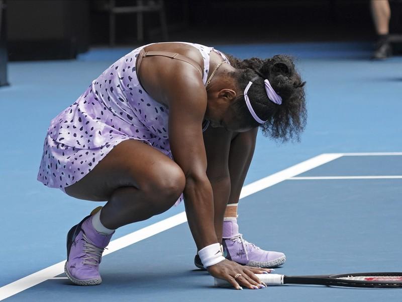 Sklamaná Serena Williamsová