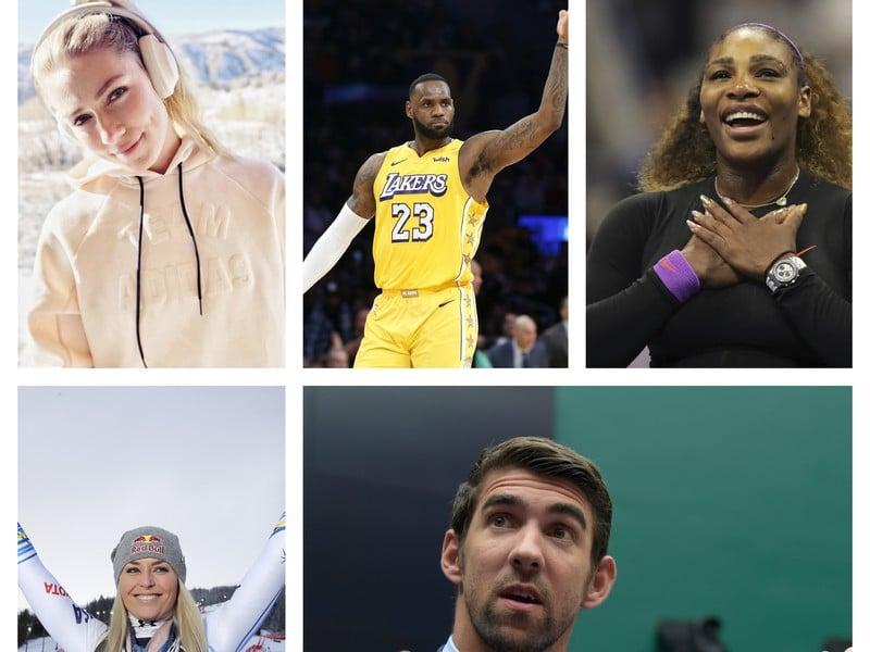 Športovci dekády 2010 - 2019