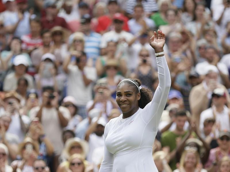 Serena Williamsová máva obecenstvu