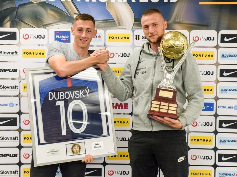 Róbert Boženík a Milan Škriniar