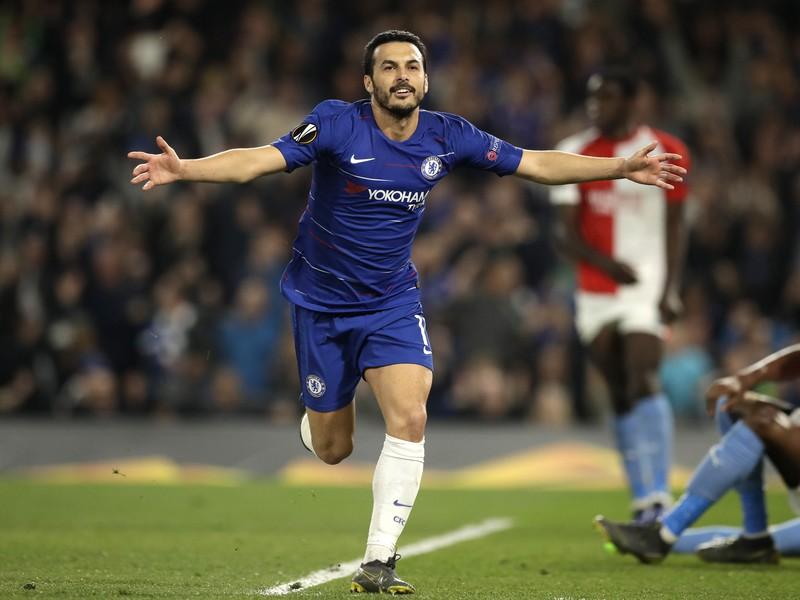 Pedro a jeho gólová radosť