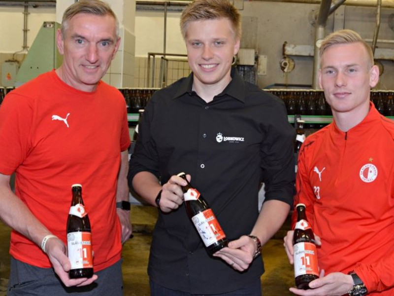 Slavia má vlastné klubové pivo