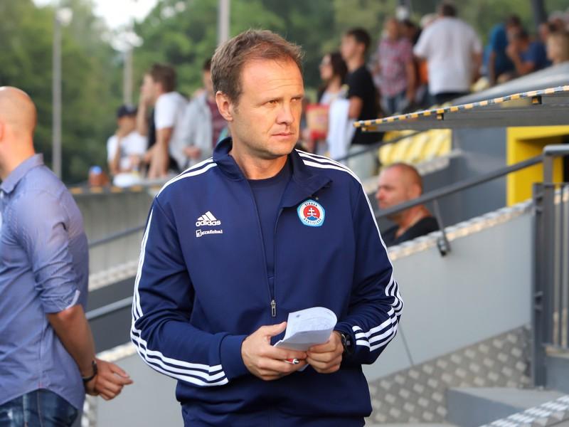 Dočasný tréner ŠK Slovan Bratislava Vladimir Radenkovič