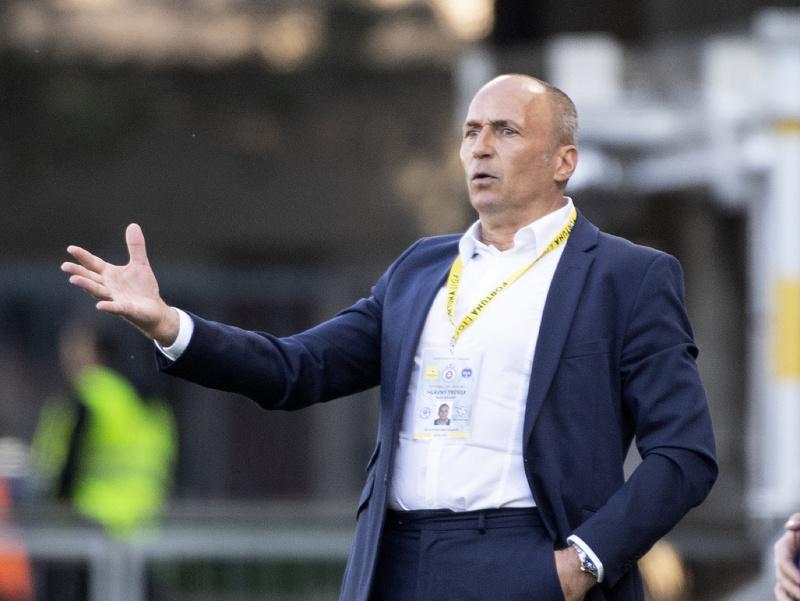 Tréner ŠK Slovan Darko Milanič