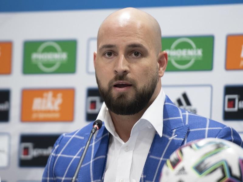 Generálny riaditeľ futbalového klubu ŠK Slovan Bratislava Ivan Kmotrík ml.