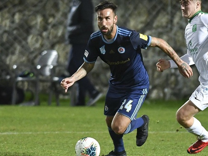 Slovan v generálke remizoval s Ludogorcom Razgrad