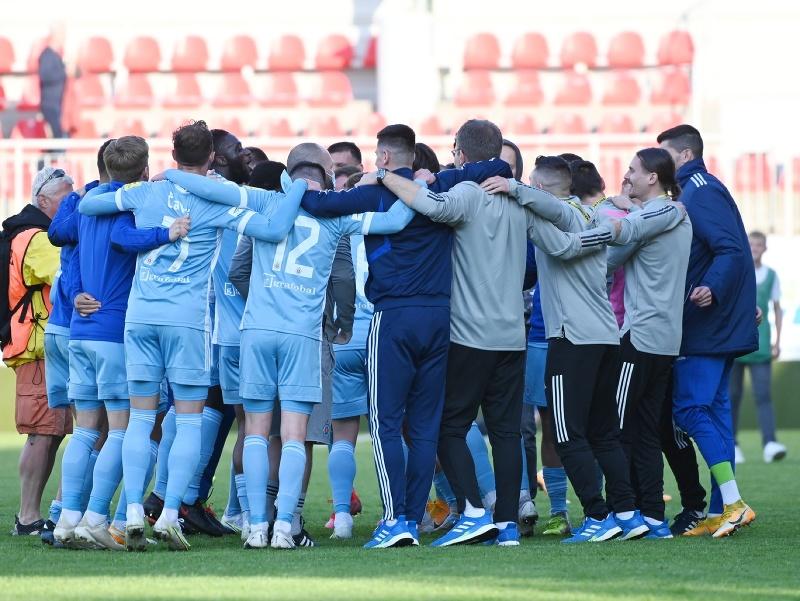 Majstrovské oslavy futbalistov ŠK Slovan Bratislava