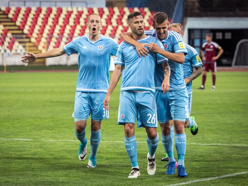 Slovan sa v Myjave na postup poriadne nadrel