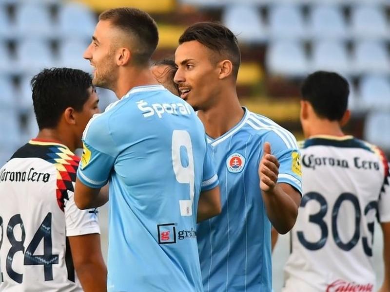 Slovan uspel v záverečnom prípravnom zápase