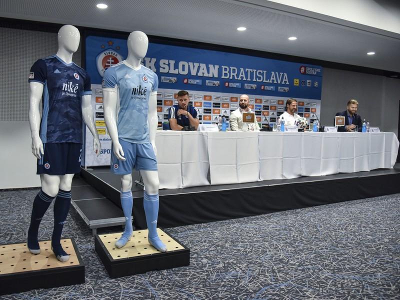 Nové dresy ŠK Slovan Bratislava