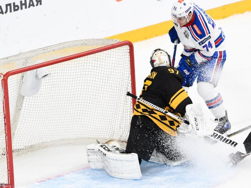 SKA Petrohrad predvádza dominantné výsledky