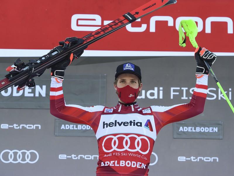 Schwarz má prvé slalomové víťazstvo
