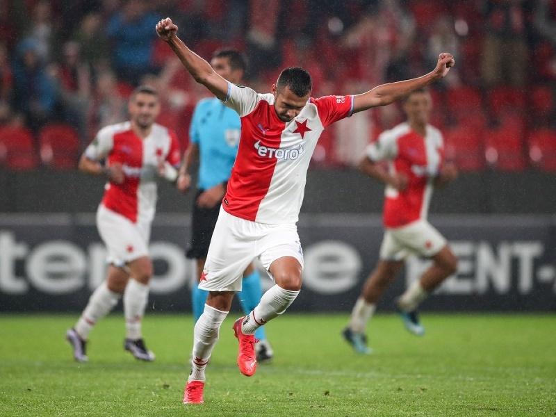 Ivan Schranz sa raduje z gólu