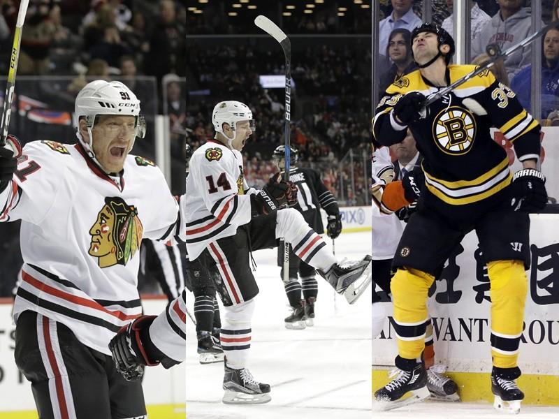 Marián Hossa, Richard Pánik aj Zdeno Chára v NHL dali o sebe vedieť