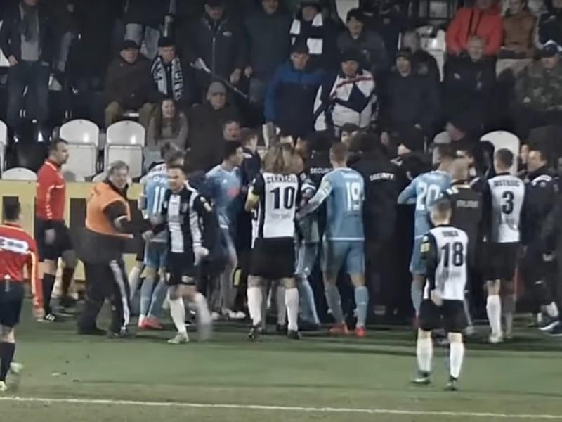 Roztržka medzi hráčmi Myjavy a Slovana