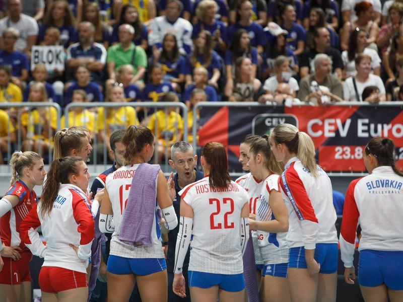 Marco Fenoglio dohovára slovenským volejbalistkám