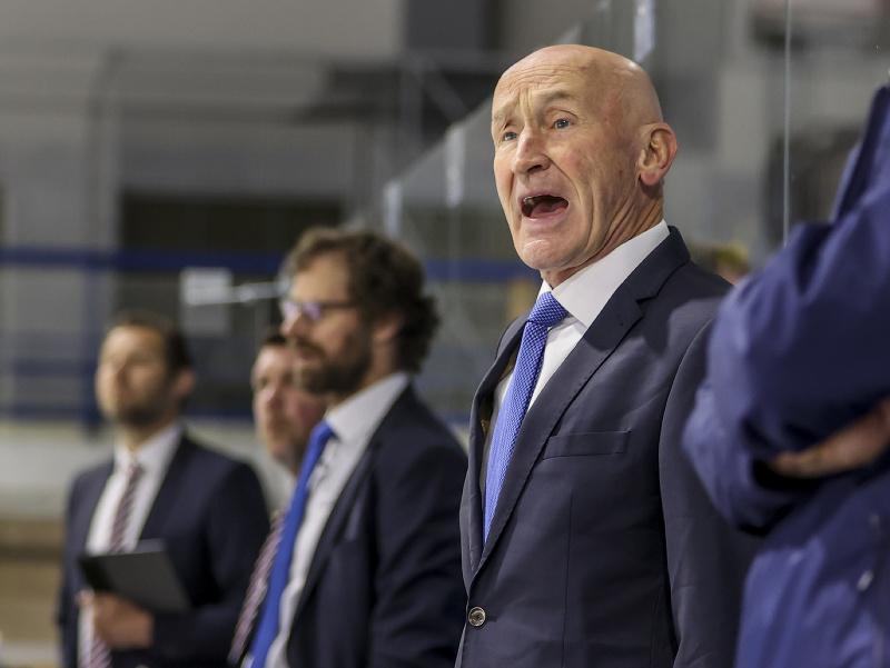 Tréner slovenskej reprezentácie Craig Ramsay