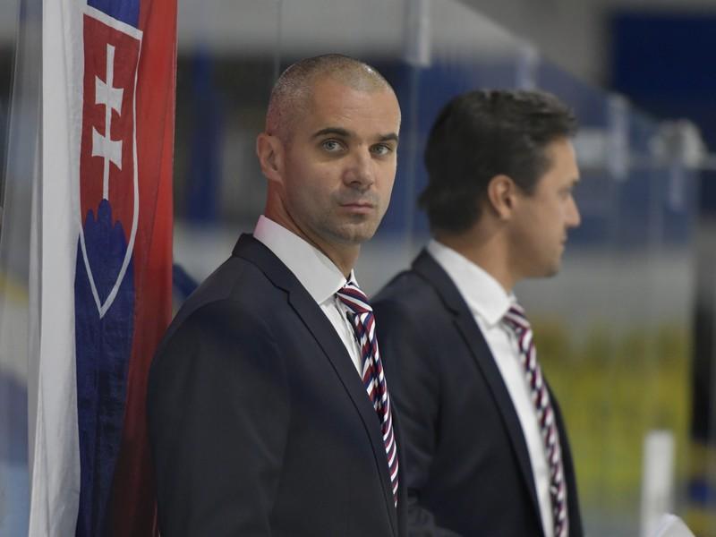 Ivan Feneš, tréner slovenskej hokejovej reprezentácie do 18 rokov