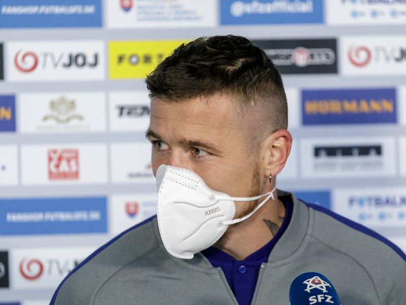 Na snímke slovenský futbalový reprezentant Juraj Kucka