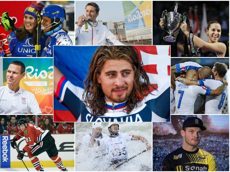 Najväčšie úspechy slovenských športovcov v roku 2016