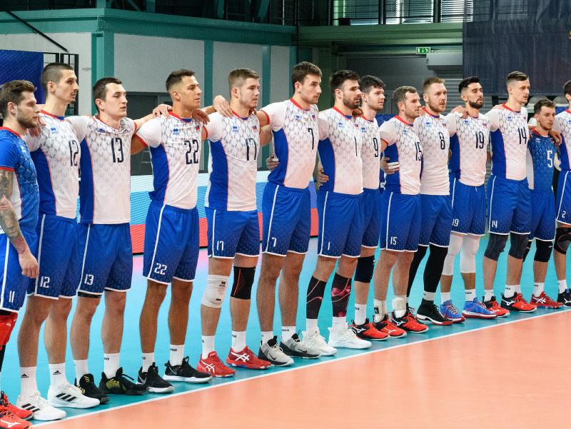 Reprezentanti Slovenska v zápase 1. turnaja kvalifikácie E- skupiny