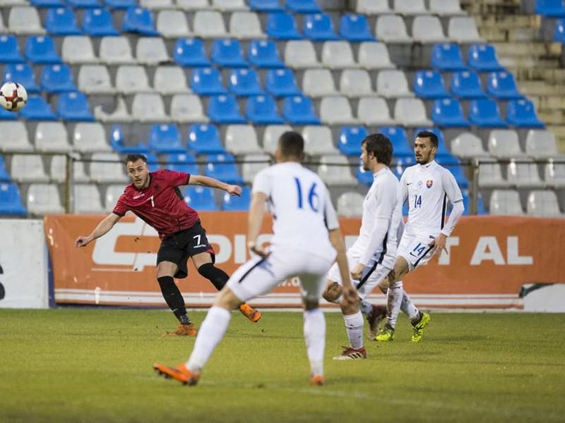 Slovensko si odváža z Albánska tri body