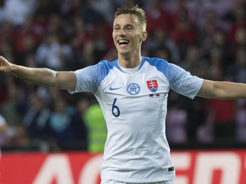 Ján Greguš sa raduje z gólu