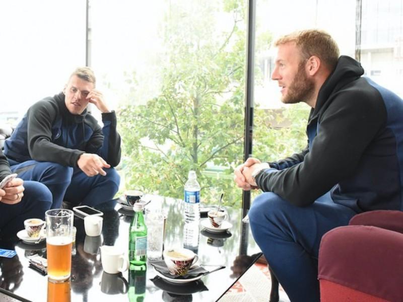Tomáš Hubočan, Martin Škrtel a Adam Nemec