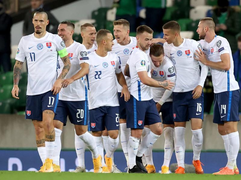 Radosť slovenských futbalistov