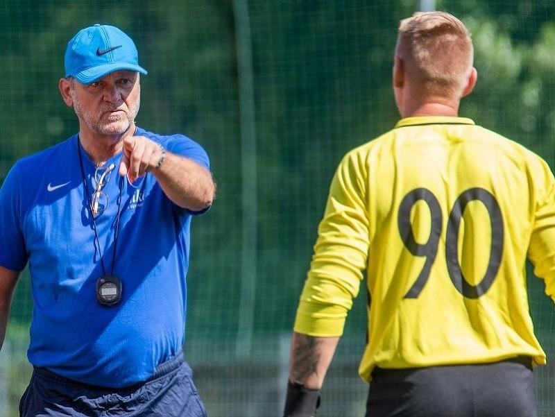 Tréning slovenských reprezentantov v malom futbale