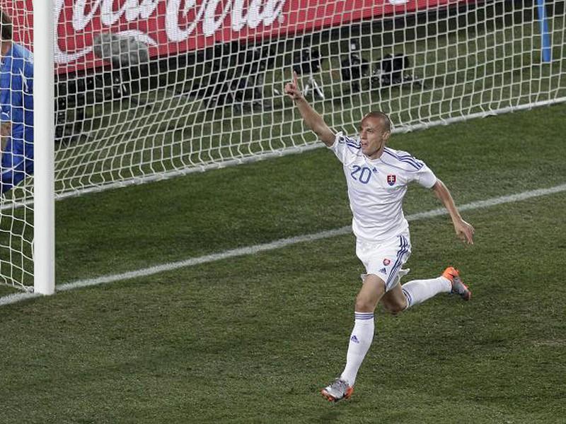 Striedajúci Kopúnek strelil tretí gól Slovenska do siete Talianska