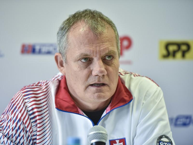 Tréner daviscupového tímu Tibor Tóth