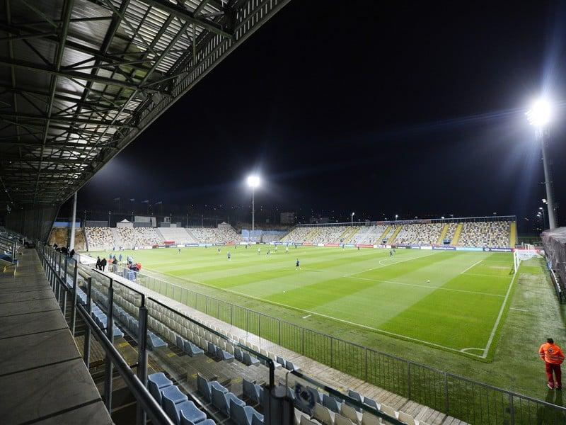 Na snímke futbalový štadión Rujevica