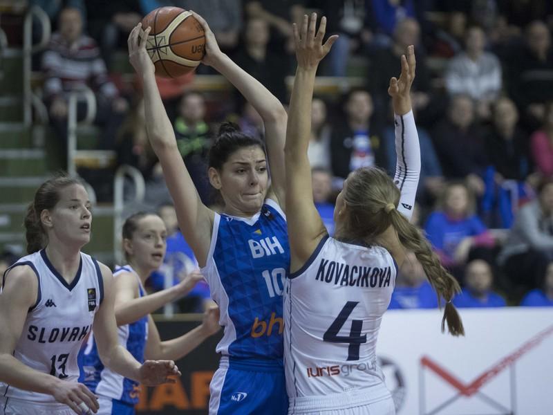 Kvalifikácie na ME 2019 v basketbale žien Slovensko - Bosna a Hercegovina
