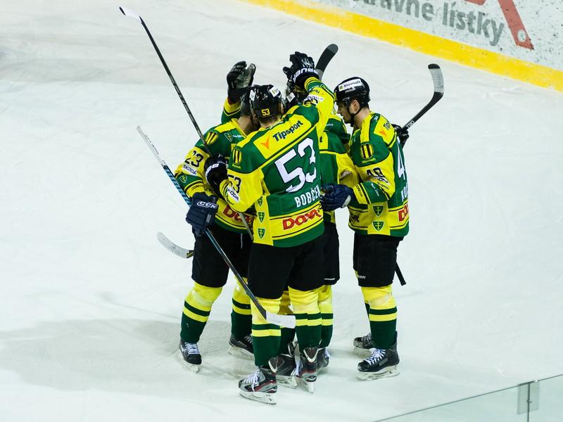 Gólové oslavy hokejistov Žiliny