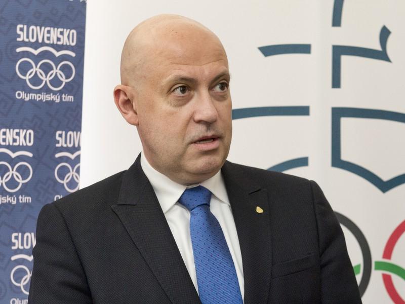 Prezident Slovenského olympijského výboru (SOV) Anton Siekel
