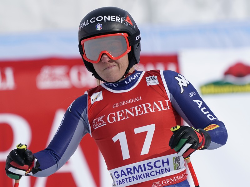 Talianska zjazdárka Sofia Goggiová