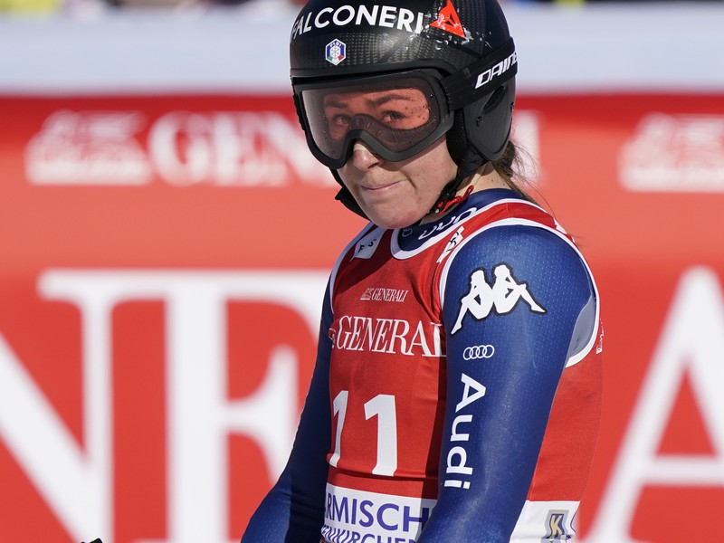 Talianska lyžiarka Sofia Goggiová