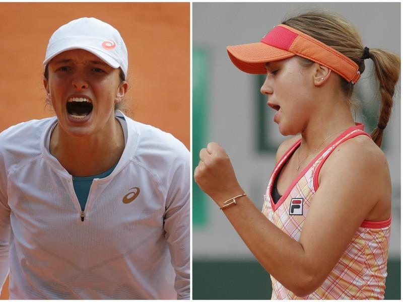 Iga Swiateková vs. Sofia Keninová
