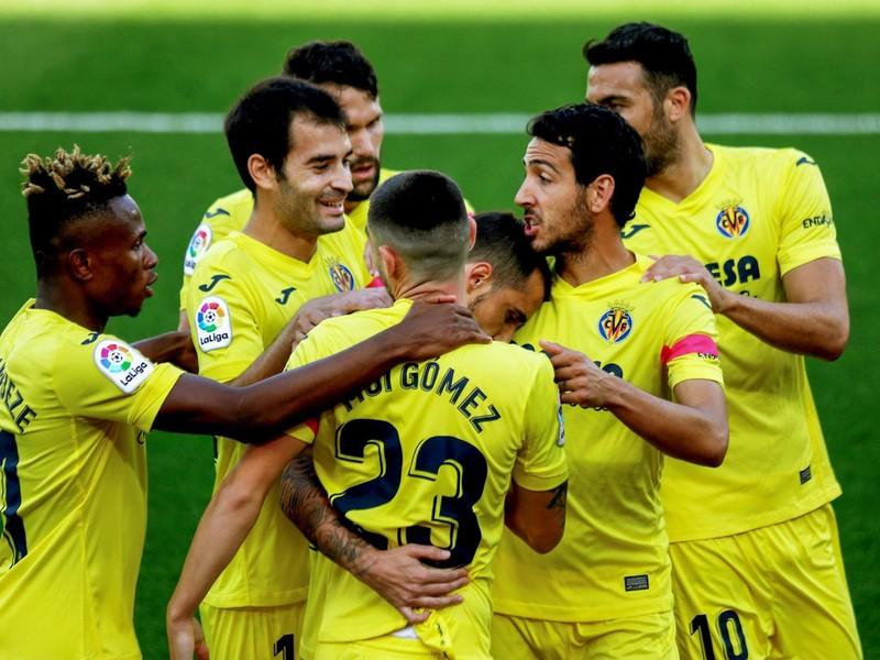 Gólové oslavy futbalistov Villarrealu