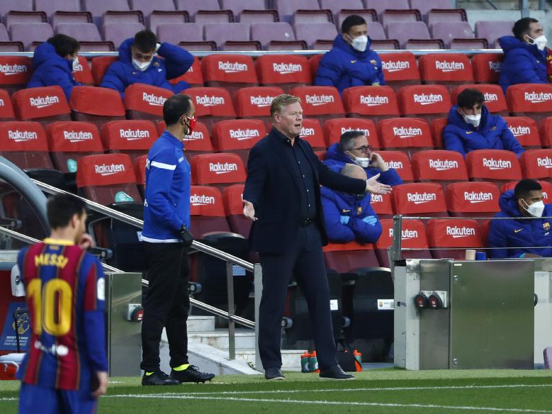 Ronald Koeman na lavičke Barcelony
