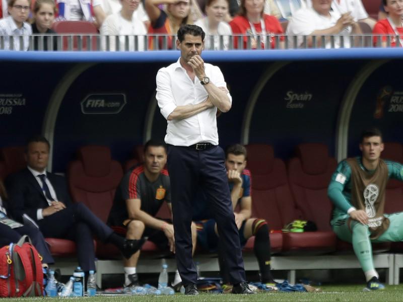 Fernando Hierro trénoval Španielsko na MS v Rusku