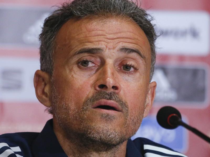Španielsky tréner Luis Enrique